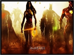 Injustice Gods Among Us, Postacie